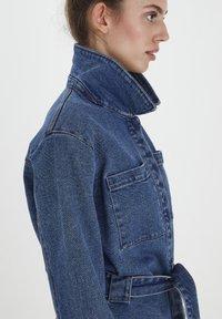 ICHI - IHNICOLE  - Denim jacket - medium blue - 3