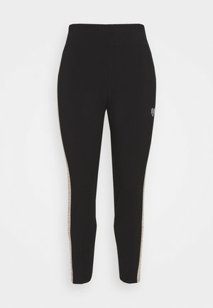 BAY TAPE LEGGING CURVE - Leggings - black