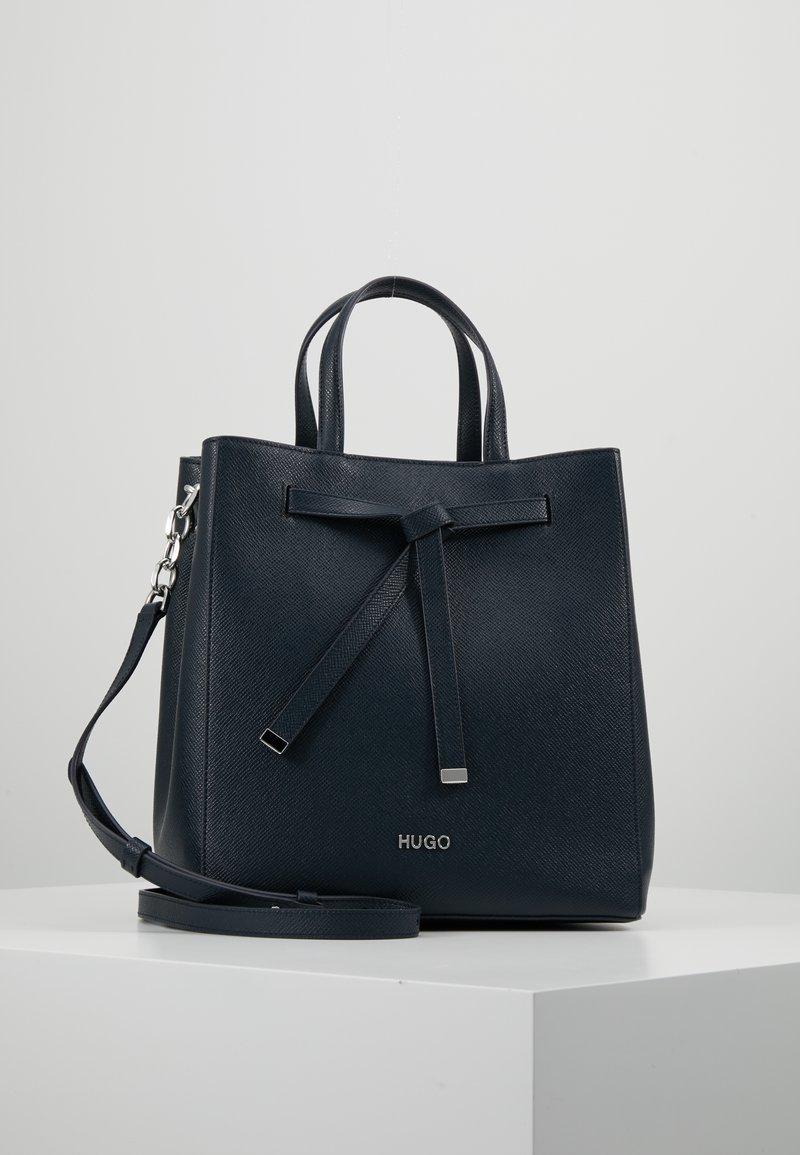 HUGO - VICTORIA DRAWSTRING - Handbag - night blue