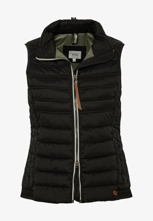 STEPPWESTE - Waistcoat - black