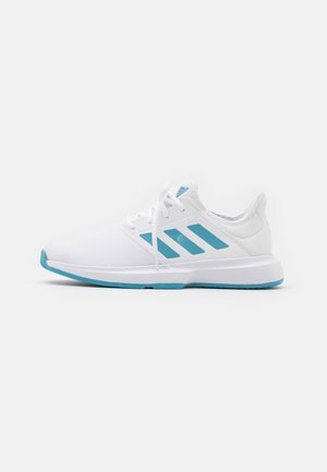 GAMECOURT  - All court tennisskor - footwear white/haze blue/halo blue