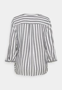 TOM TAILOR - Blouse - offwhite/navy - 1