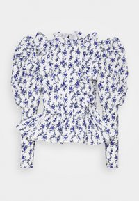 Sister Jane - WISTERIA PUFF SLEEVE BLOUSE - Blouse - ivory - 0