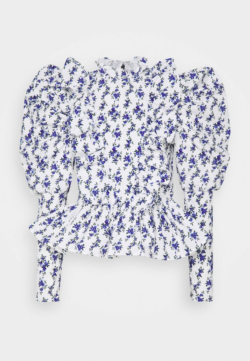 Sister Jane - WISTERIA PUFF SLEEVE BLOUSE - Blouse - ivory
