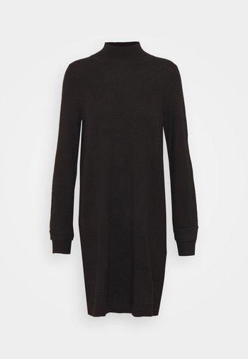 Jumper dress - black tea