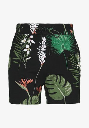 ONLPOPTRASH  - Shorts - black/leaf