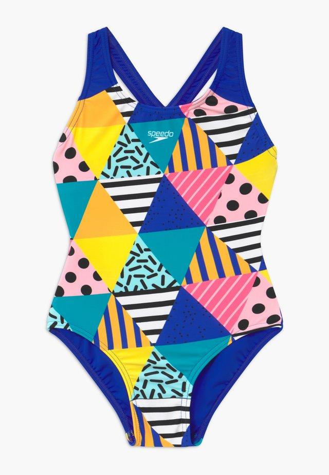 Swimsuit - dazzlebloc black/cobalt