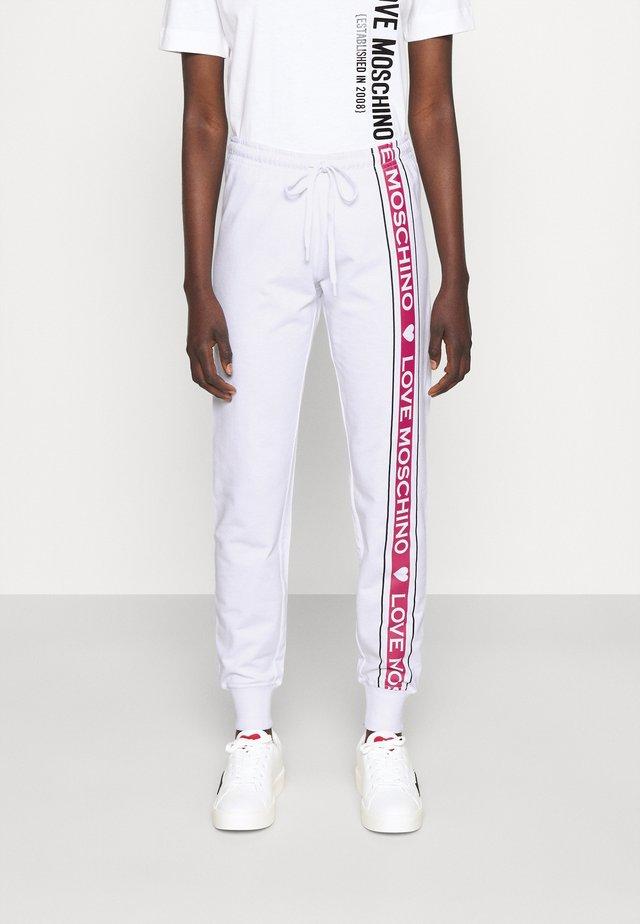 Teplákové kalhoty - optical white