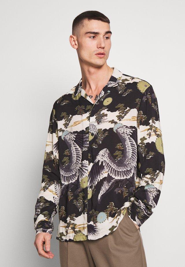 DESCENT - Camicia - black
