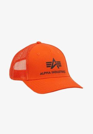 BASIC TRUCKER UNISEX - Pet - flame orange