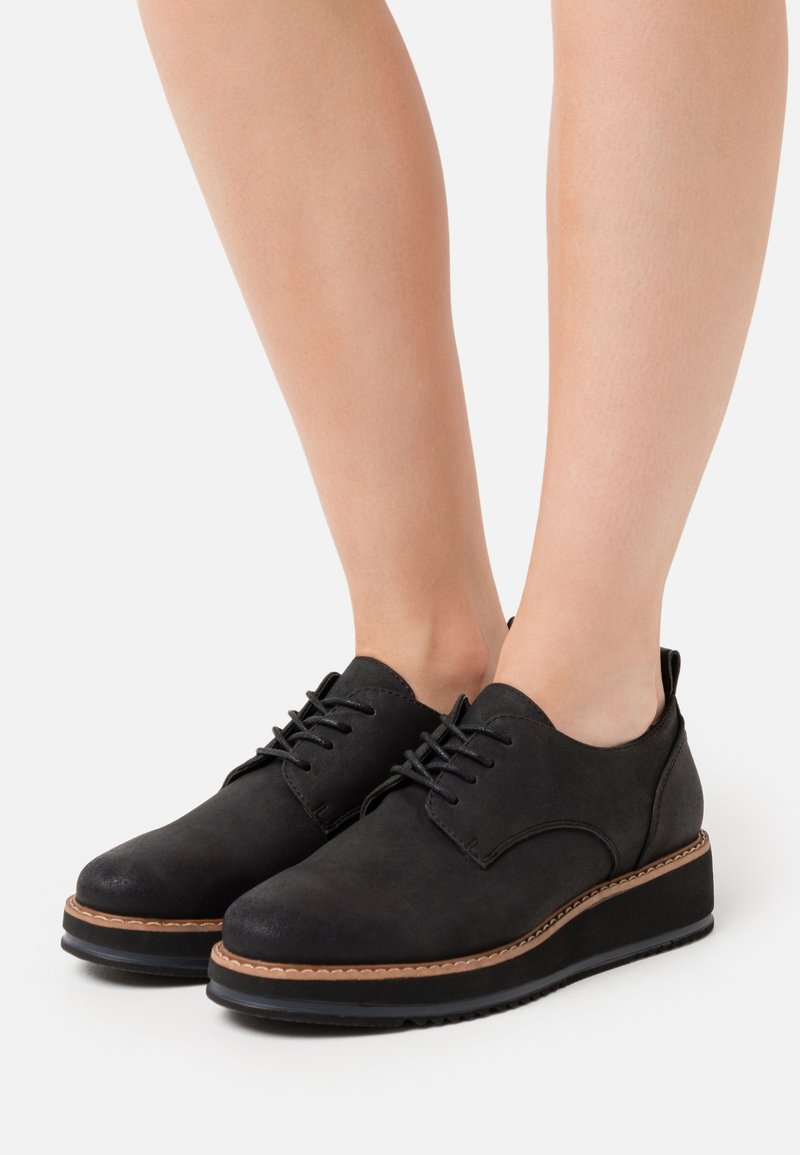 Anna Field - Chaussures à lacets - black