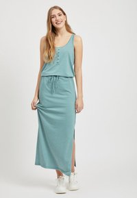 Object - OBJSTEPHANIE MAXI DRESS  - Maxi dress - light blue - 1
