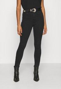 ONLY - ONLMILA LIFE - Jeans Skinny Fit - black denim - 0