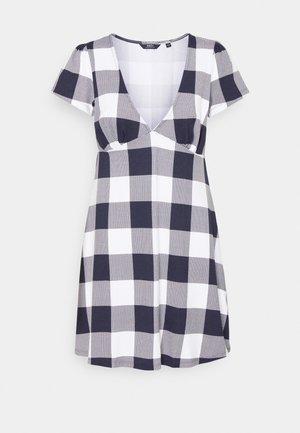 RIVIERA DRESS - Vestido informal - navy/multi