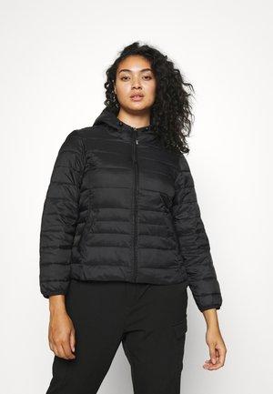 VMMIKKOLA SHORT HOODY JACKET - Light jacket - black
