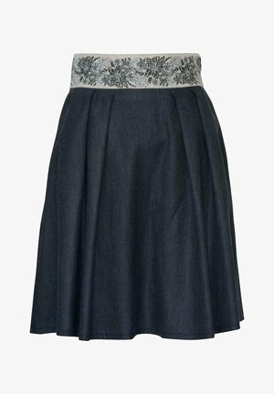 LEIFERS-2-U - A-line skirt - marine