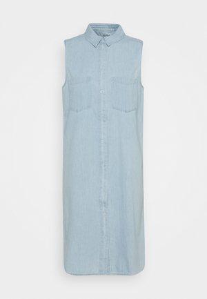 Skjortekjole - light blue
