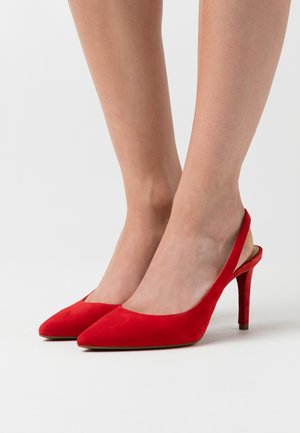 LUCILLE FLEX SLING - High heels - flame