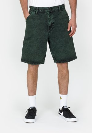 Denim shorts - deep lagoon
