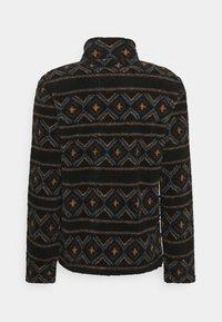 REVOLUTION - PRINTED FLEECE - Fleece jacket - black - 1