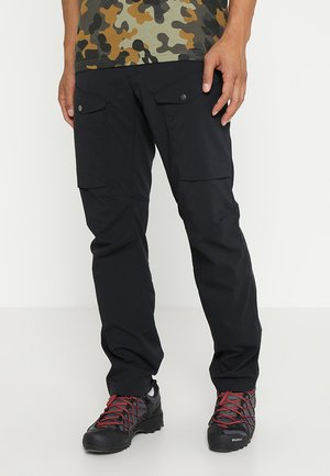 MID FJORD PANT MEN - Outdoorbroeken - true black