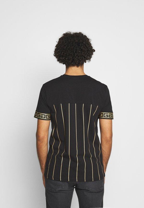 Glorious Gangsta DEBRIS - T-shirt z nadrukiem - black/czarny Odzież Męska TEIV