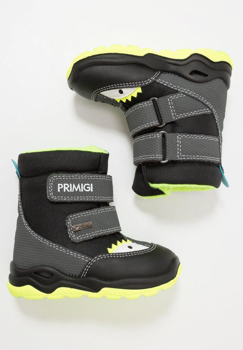 Primigi - Baby shoes - grey/black