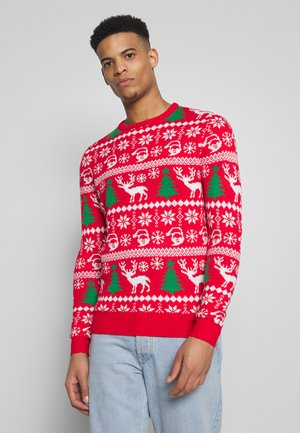 SANTA - Jumper - red