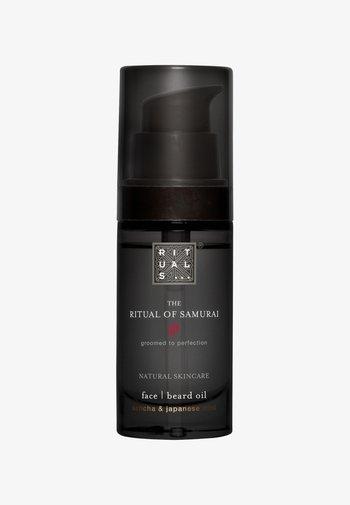 THE RITUAL OF SAMURAI BEARD OIL BARTÖL - Beard oil - -