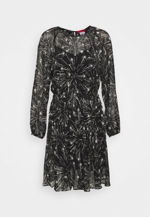 RAFIA - Day dress - black