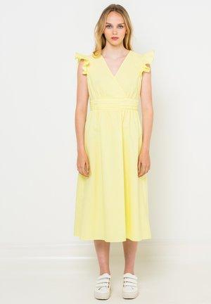 Robe d'été - jaune