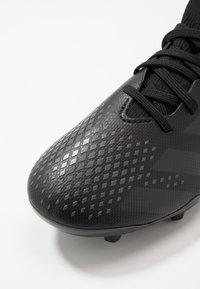 adidas Performance - PREDATOR 20.3 FG - Kopačky lisovky - core black/solid grey - 2