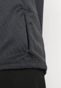 Nike Performance - TRAIL - Camiseta de deporte - black/dark smoke grey - 4