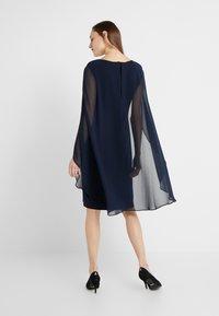 Lauren Ralph Lauren - CLASSIC DRESS COMBO - Cocktail dress / Party dress - lighthouse navy - 2