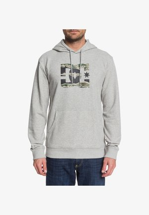 DC SHOES™ STAR - KAPUZENPULLI FÜR MÄNNER EDYSF03218 - Hoodie - grey heather/camo