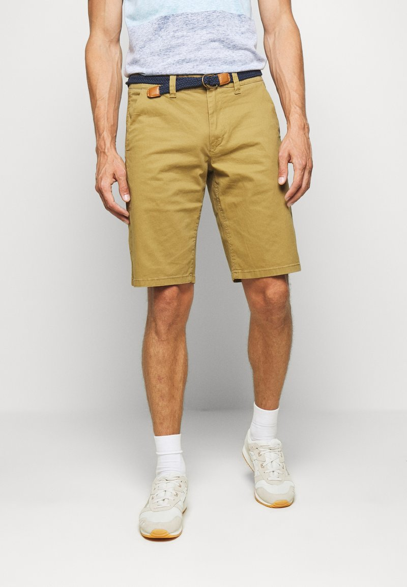 Only & Sons - ONSWILL CHINO  - Kraťasy - dull gold