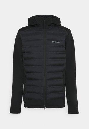 OUT-SHIELD™ FULL ZIP HOODIE - Outdoor jacket - black