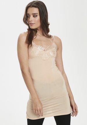 Jersey dress - amberlight nude