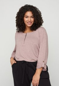 Zizzi - Long sleeved top - rose - 0