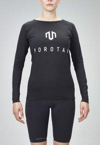 MOROTAI - Long sleeved top - black - 1