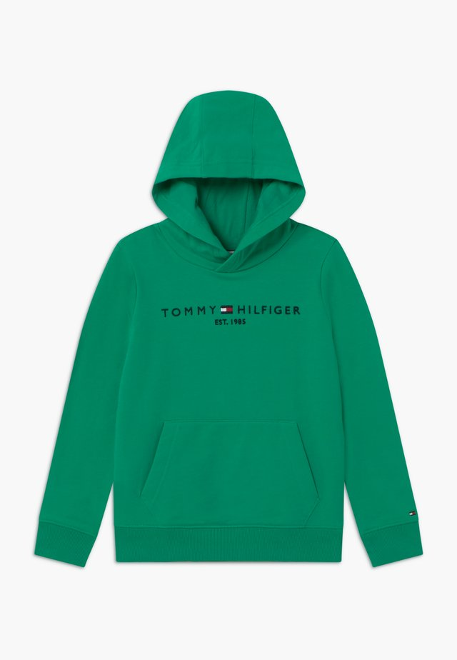 ESSENTIAL HOODIE UNISEX - Sweat à capuche - green