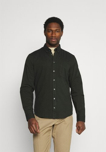 ANTON TWO TONE SHIRT - Camicia - forest night