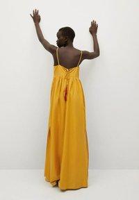 Mango - Maxi dress - moutarde - 1