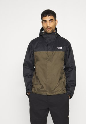 VENTURE 2 JACKET  - Outdoorjas - black/taupe