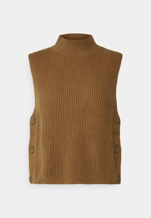ROLL NECK AND SIDE BOTTONS - Top - woodcliff lake