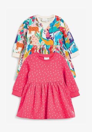2 PACK BRIGHT - Denní šaty - pink