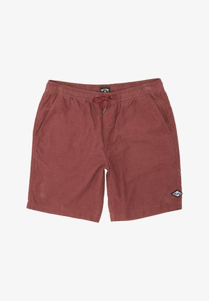 Swimming shorts - dusty red