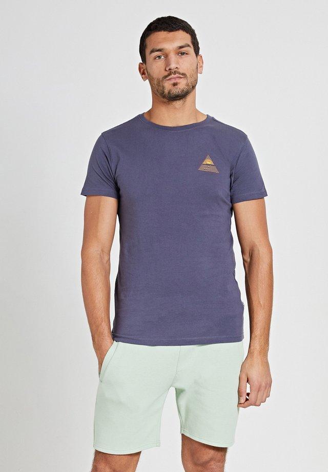 SUNSHINE TRIANGLE - T-shirt imprimé - dusty anthracite grey