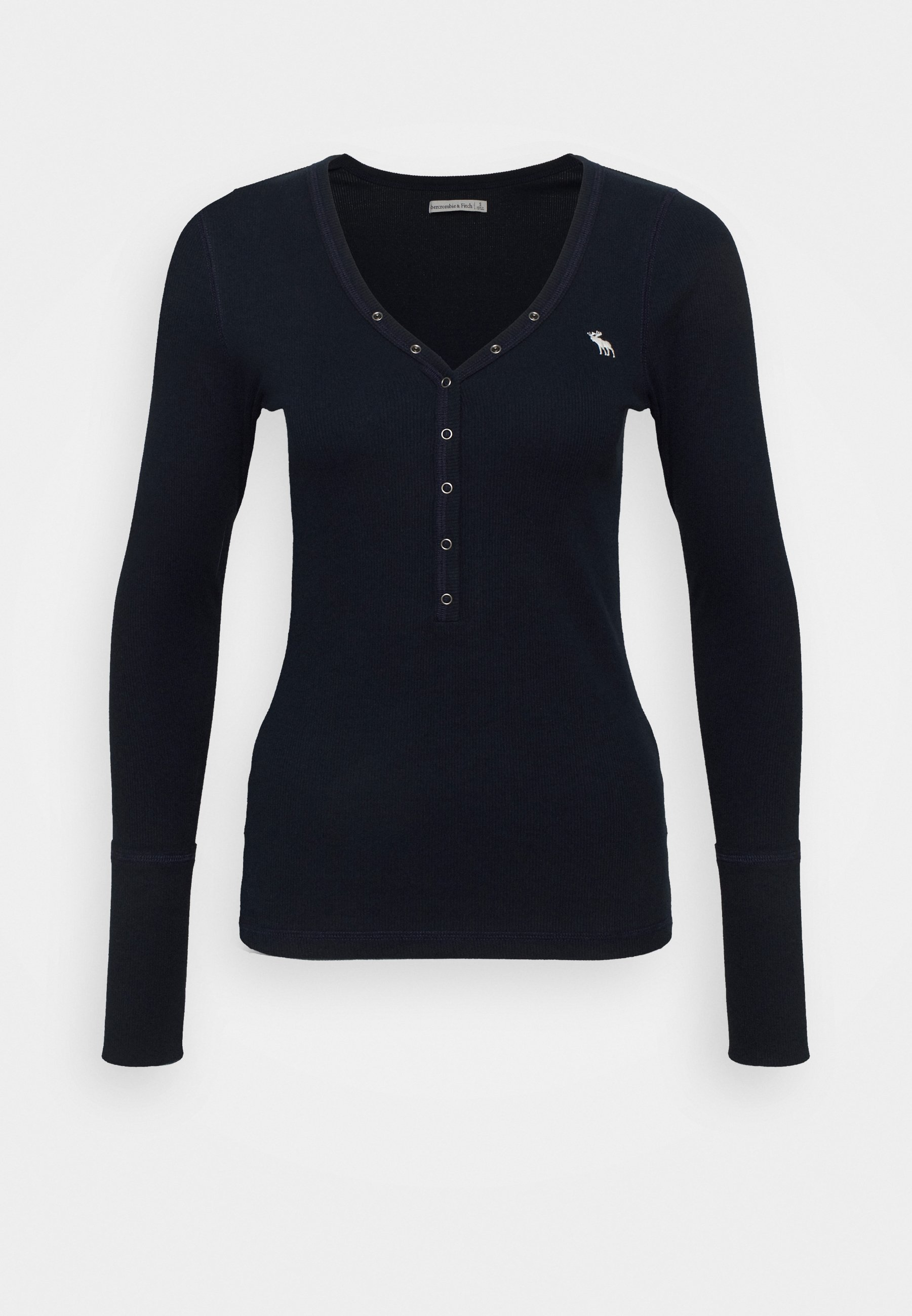 Women ICON HENLEY - Long sleeved top