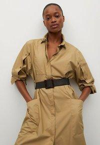 Mango - BELINDA - Košilové šaty - mellembrun - 3